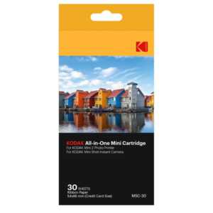 Аксесоар фото Kodak DYE-SUB PAPER 2,1X3,4 - 30 PACK KODMC30